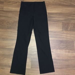 By & By black stretch pants size large